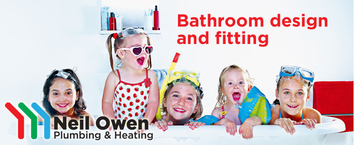 Transform your bathroom with Neil Owen Plumbing & Heating