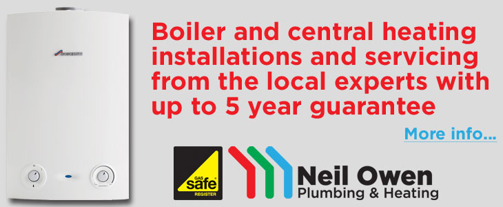 Boiler and Central Heating Installations from Neil Owen Plumbing & Heating